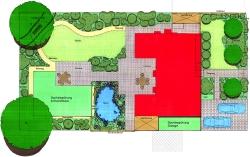 Hausgarten Ratingen - Entwurf