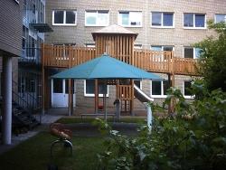 Spielplatzkombination Kinderkrankenhaus Köln