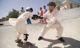 Skatepark in Karokh, Afghanistan