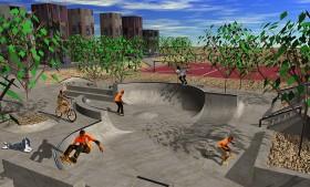 Skatepark Bouknadel, Marokko