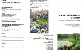 Vorträge zum städtischen Freiraum – FSB-Messe Köln