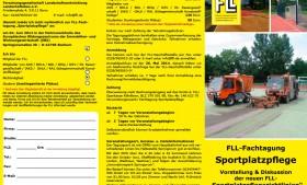 FLL Fachtagung Sportplatzpflege