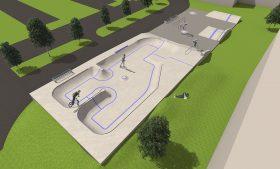 Skatepark Hennef – TempoAir – temporär und dauerhaft – Pool und Street