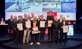 Verleihung der Architekturpreise 2017 von IOC, IPC und IAKS, Konrad-Adenauer-Saal, CongressCentrum Nord