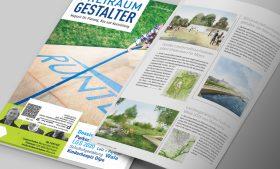 Gewonnener Wettbewerb im Freiraum Gestalter Magazin