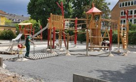 Spielplatz Köln, Geraer Str.