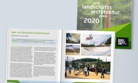 Teilnahme beim nrw landschaftsarchitekturpreis 2020