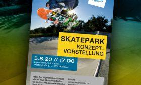Termin zur Konzeptvorstellung für den neuen Skatepark in Kevelaer