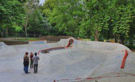 Sicherheitstechnische Abnahme Skatepark Essen