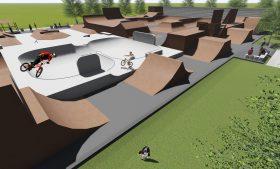 Baubeginn des Bikeparks Darmstadt!