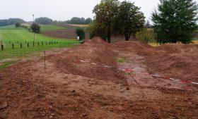 Sicherheitstechnische Abnahme der Dirtanlage in Meckbach