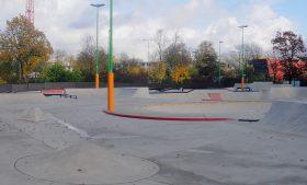Herstellung der Verkehrssicherheit des Skateparks in Düsseldorf-Eller