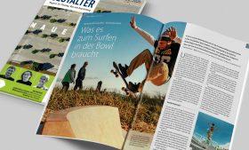 Artikel über unsere Skateparks im Freiraum Gestalter Magazin 4-20