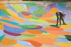 Skatepark Bethlehem Palästine zweite Bemalung Betonlandschaften 9