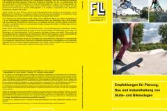 Umschlag FLL Skate- und Bikeanlagen Empfehlungen Regelwerk Skatepark