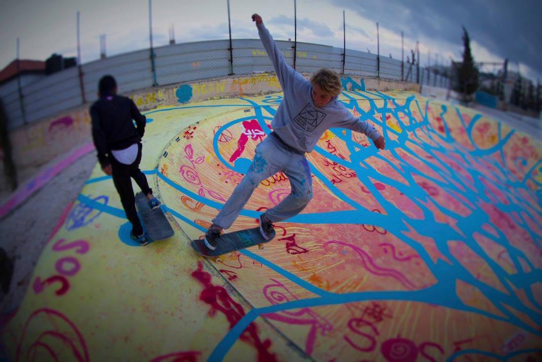 Skatepark Bethlehem Palestine 3