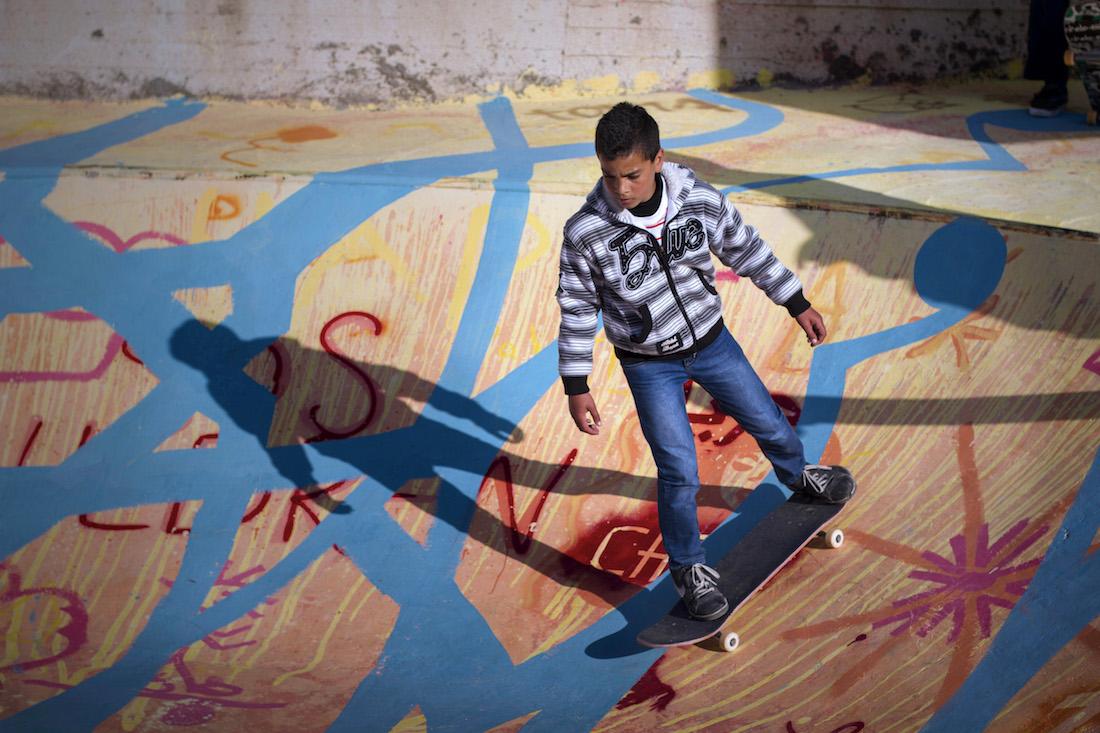 Skatepark Bethlehem Palestine 4