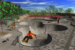 Skatepark Bouknadel (Marokko) Animation