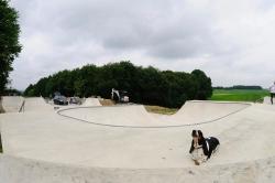 Juli 2014 - Beginn der zweiten Bauphase: Dirtanlage