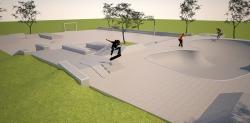Skatepark Kenia Animation
