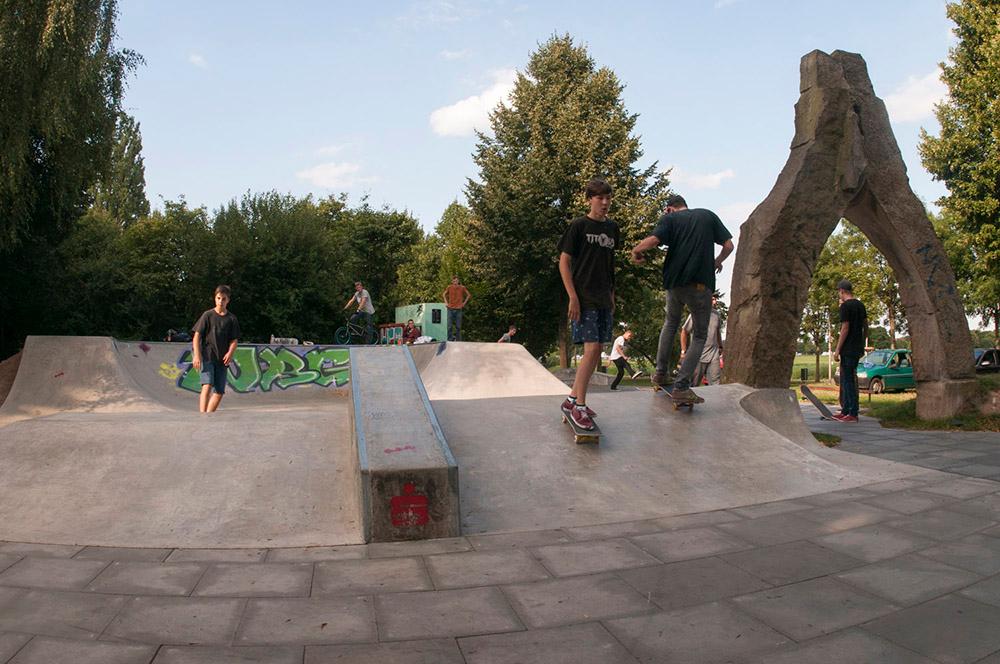 Skatepark Minden August 2013