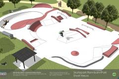 Animation Skatepark Neuss RennbahnPark maierlandschaftsarchitektur 1