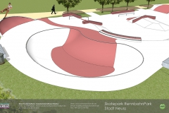 Animation Skatepark Neuss RennbahnPark maierlandschaftsarchitektur 2