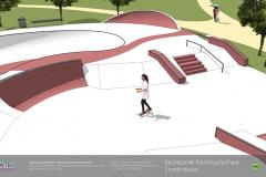 Animation Skatepark Neuss RennbahnPark maierlandschaftsarchitektur 4