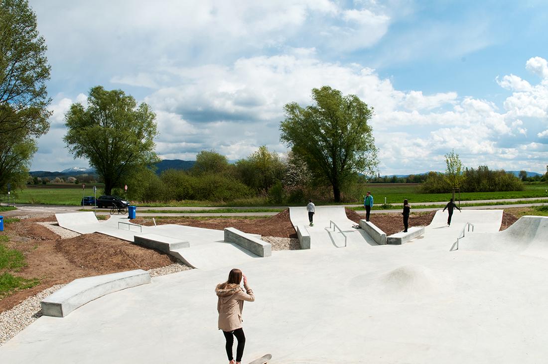 Skatepark Offenburg Maierlandschaftsarchitektur 2