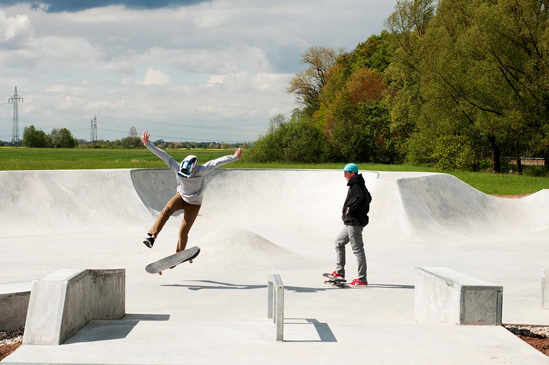 Skatepark Offenburg Maierlandschaftsarchitektur 3