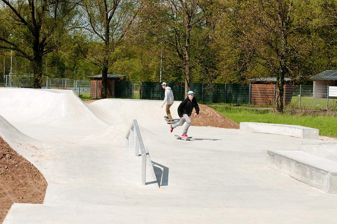 Skatepark Offenburg Maierlandschaftsarchitektur 4