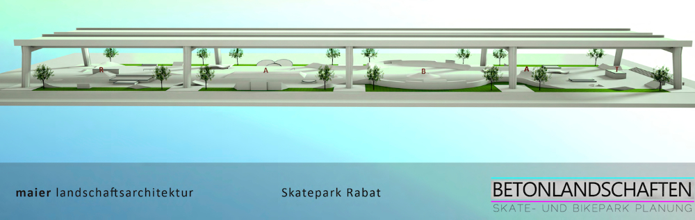 Animation Skatepark Rabat Marokko