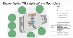 Skateplaza Lübbecke - Entwurf