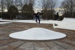 Mülheim Vulkan Baustelle Skatepark