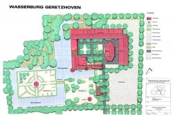 Wasserburg Geretzhoven Entwurf