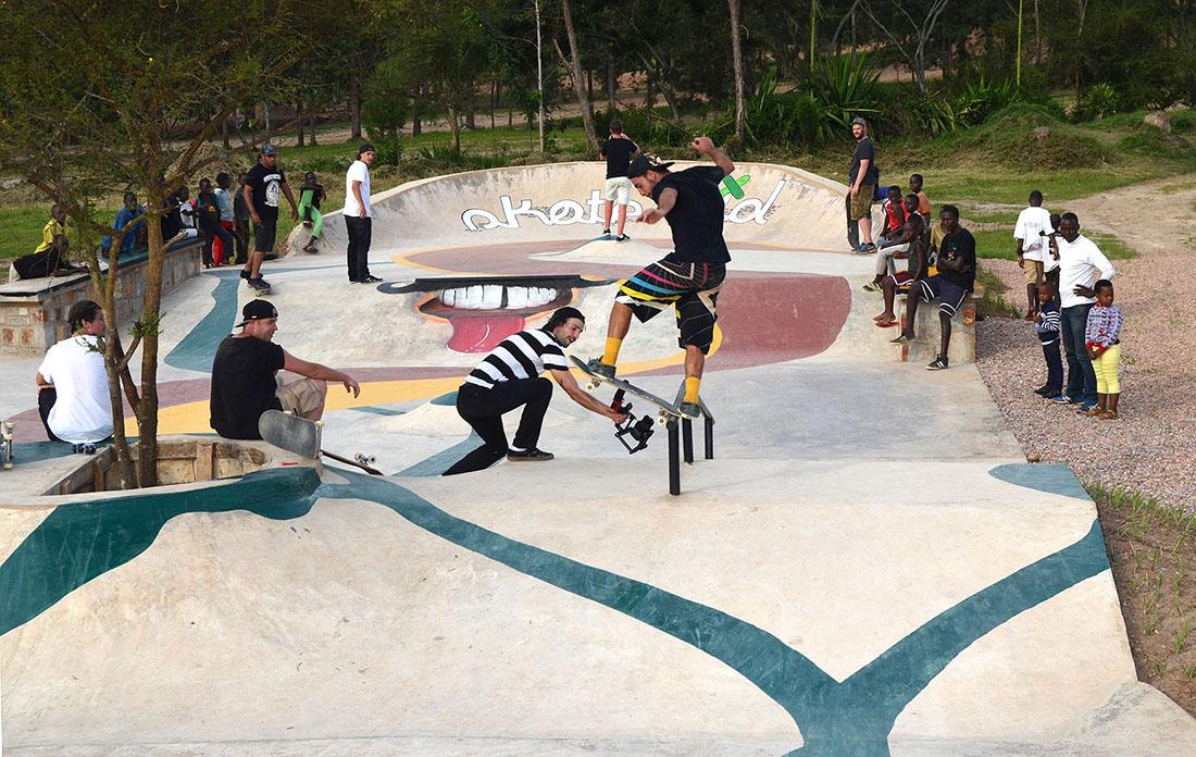 Skatepark Kigali Ruanda SOS maierlandschaftsarchitektur 1
