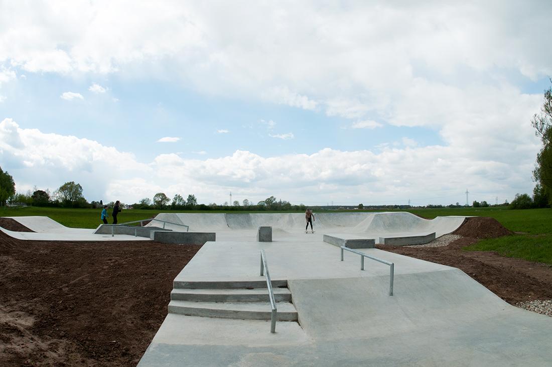 Skatepark Offenburg Maierlandschaftsarchitektur 1