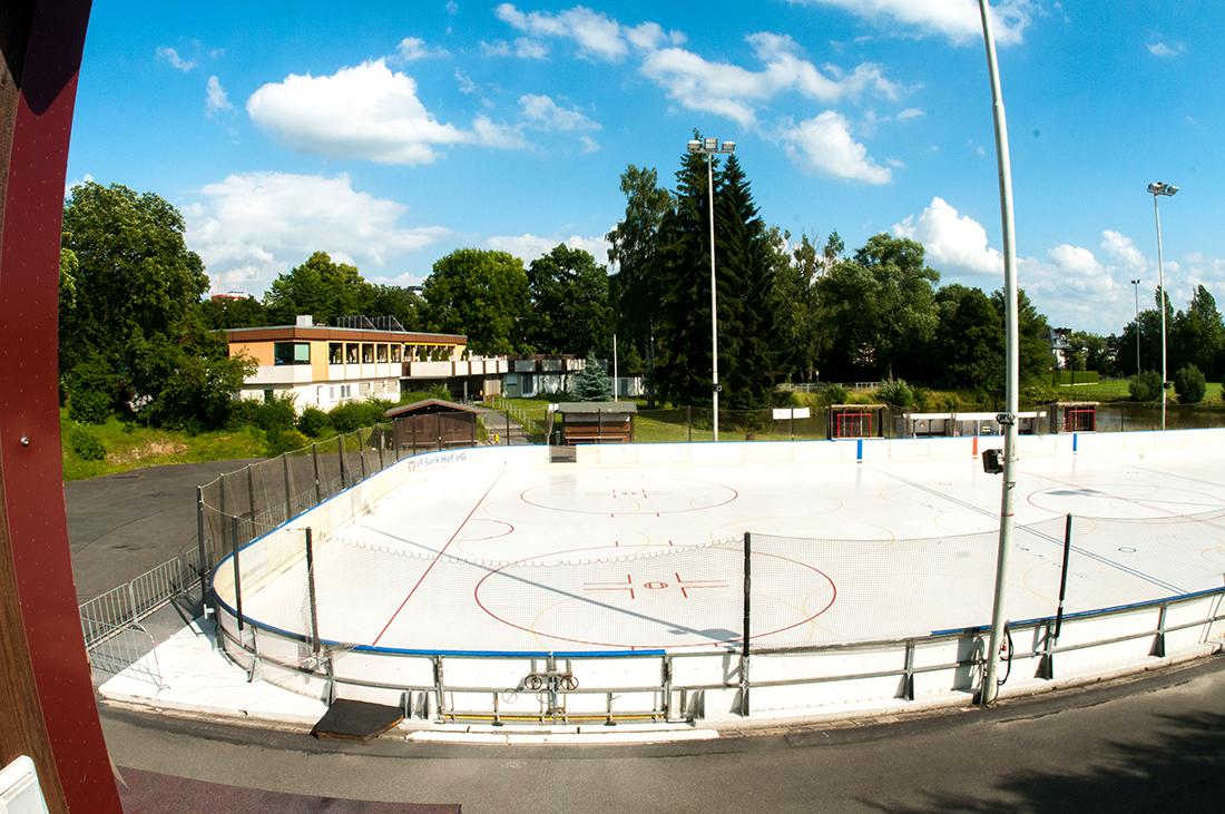 Freizeit- und Sportzentrum am Eisteich - Stadt Hof Betonlandschaften