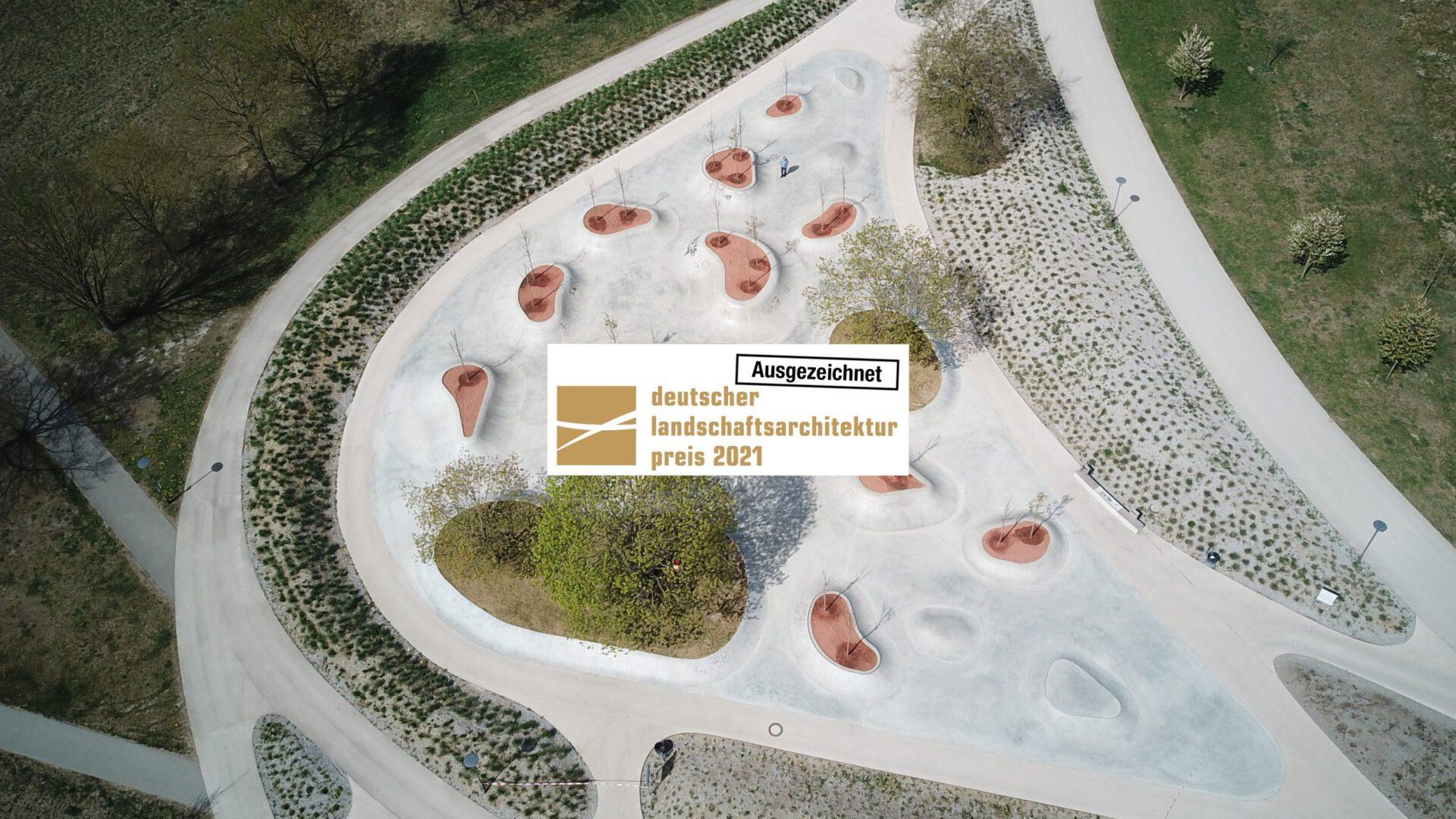Maier Landschaftsarchitektur - bdla-Preis 2021 - Bewegungslandschaft Reese Kaserne, Augsburg