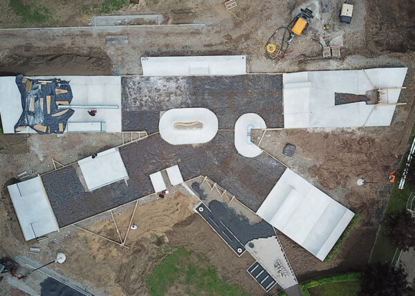 Kevelaer Skatepark - Baufortschritt 210512