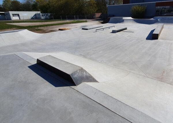 Brake Skatepark - Sicherheitstechnische Abnahme