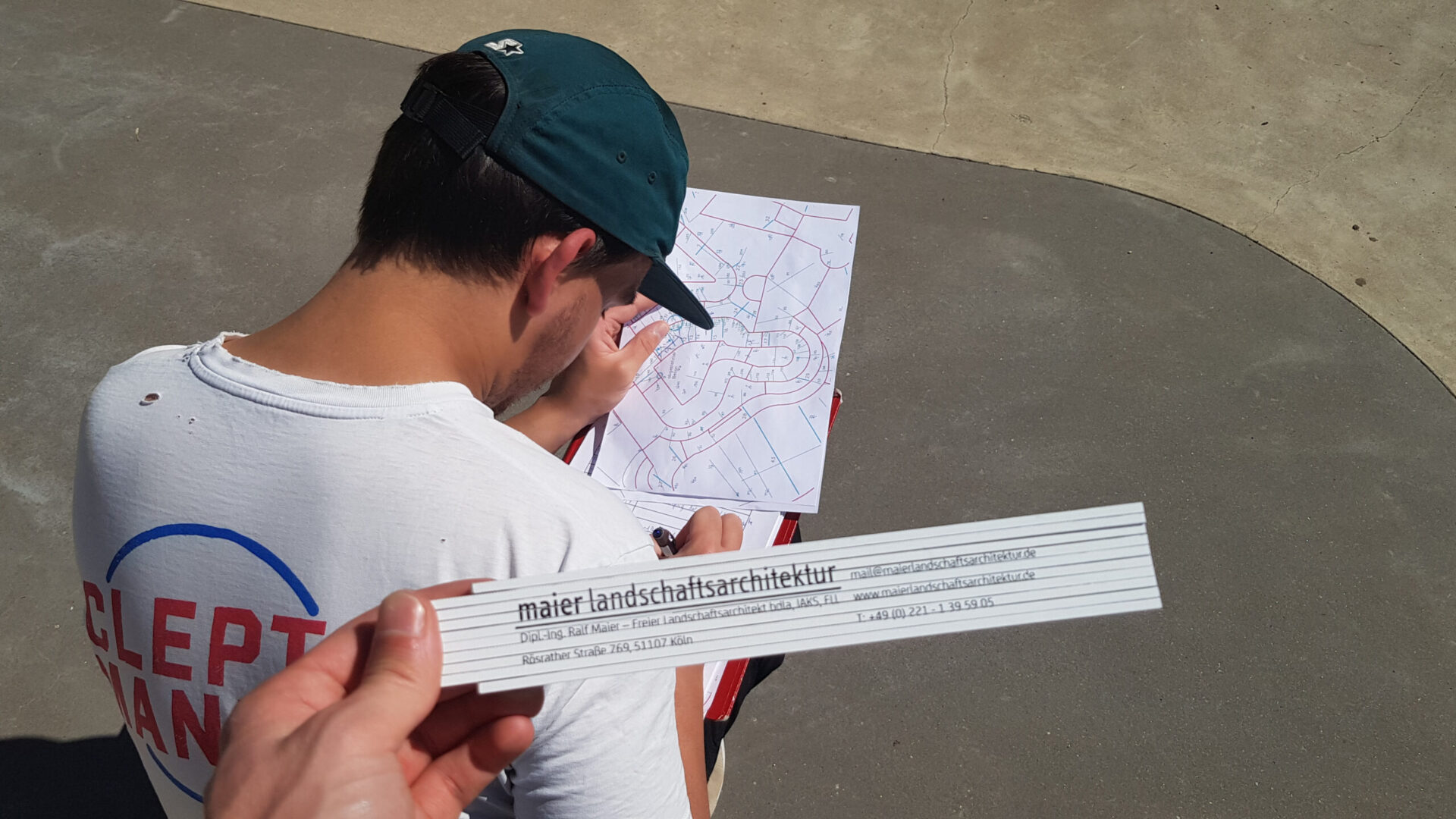 Wheelpark Wiehl - Rissdokumentation 210602