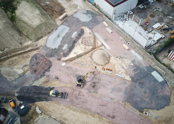 Dortmund Hombruch Street Baufortschritt 210720