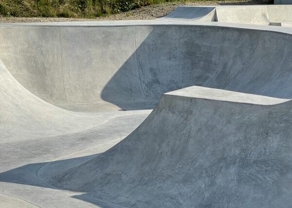Unterschleißheim Lohhof - Skatepark Baufortschritt 210729