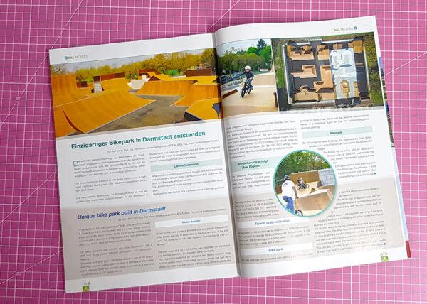 Veröffentlichung Playground Landscape 2021/3 Artikel Darmstadt