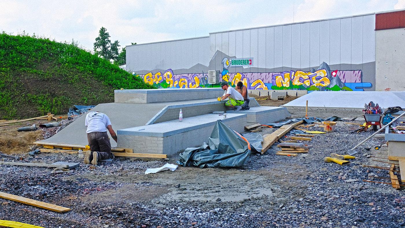 Projekt Dortmund Hombruch Street Baufortschritt 210803