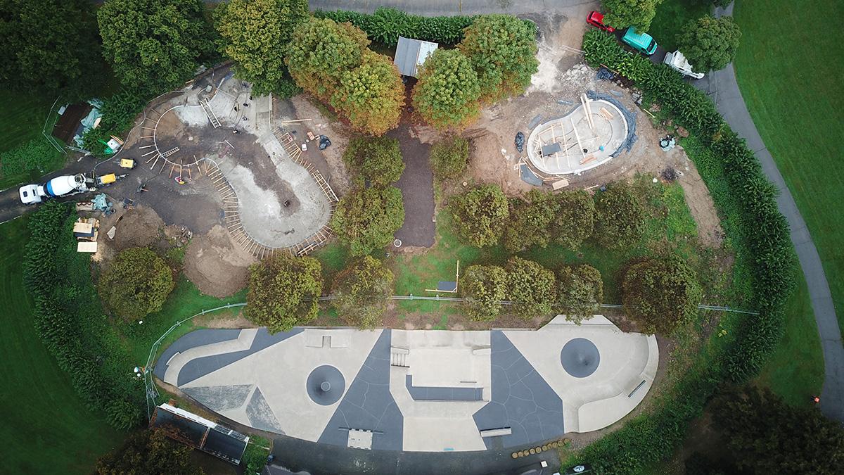 Bonn Bowls Baustellenfortschritt 210929 - 01