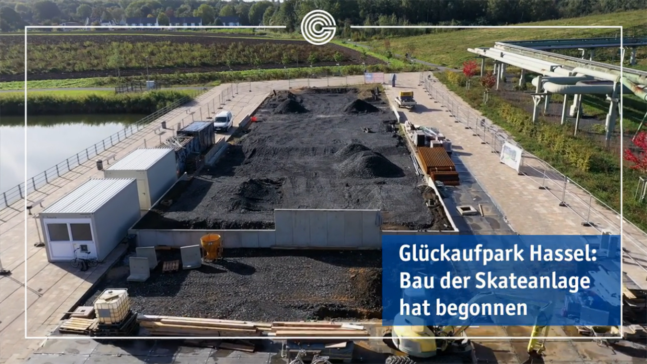 Gelsenkirchen Skatepark Baubeginn 210928
